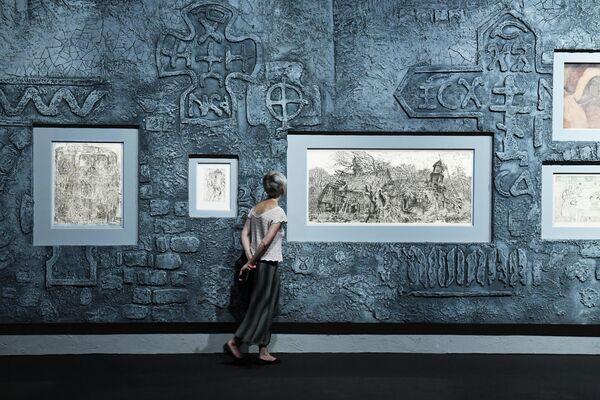 Выставка Свободный полет в новом выставочном пространстве Третьяковской галереи