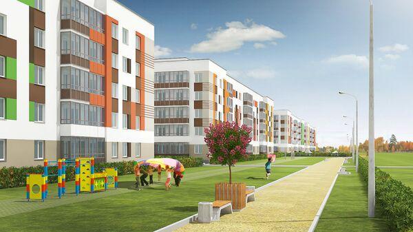 Проект нового пространства для отдыха в микрорайоне Мичуринский в Екатеринбурге