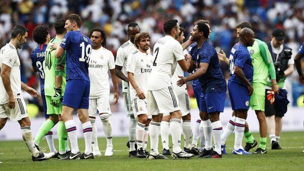 Благотворительный матч легенд Реала и Челси