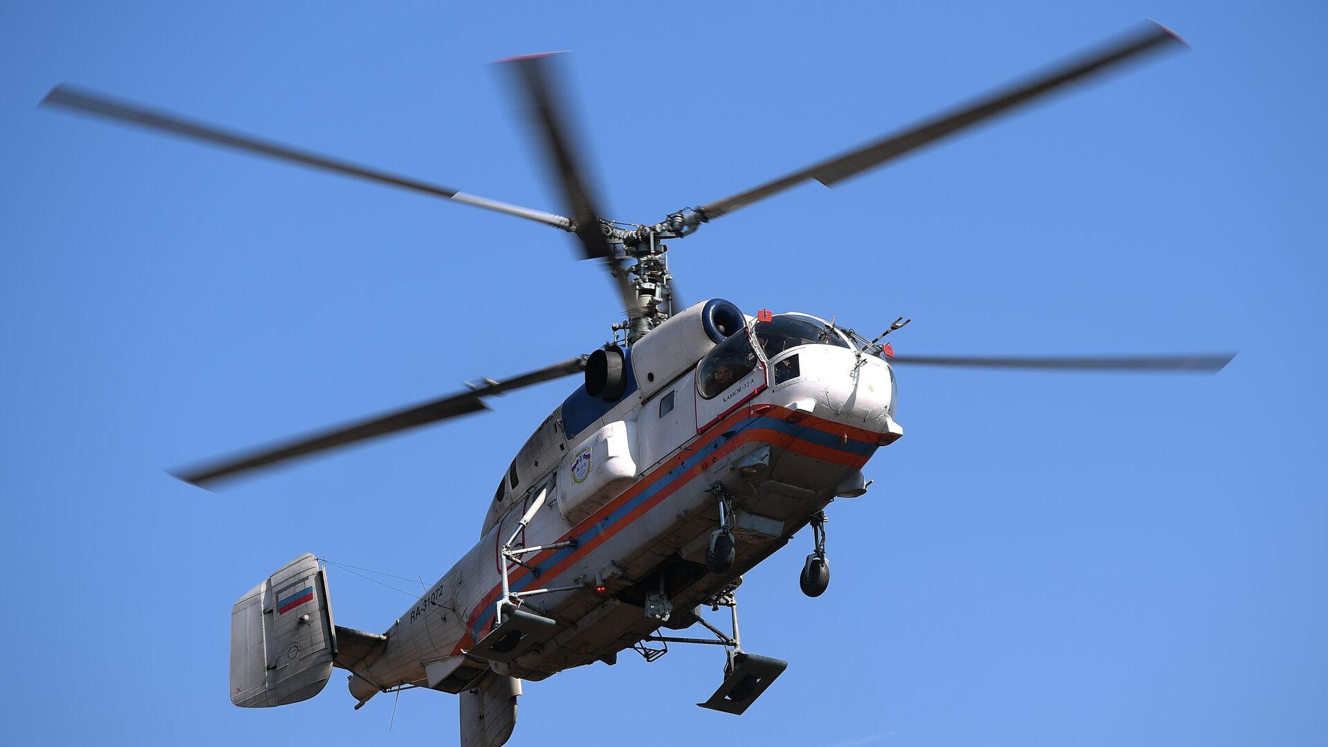 Один человек погиб при жесткой посадке Ка-32 в Калининградской области