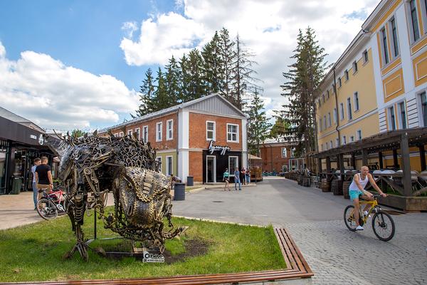 В центральной части города в шаговой доступности будет расположено более 10 учреждений – музеев, выставочных центров, театров и творческих пространств