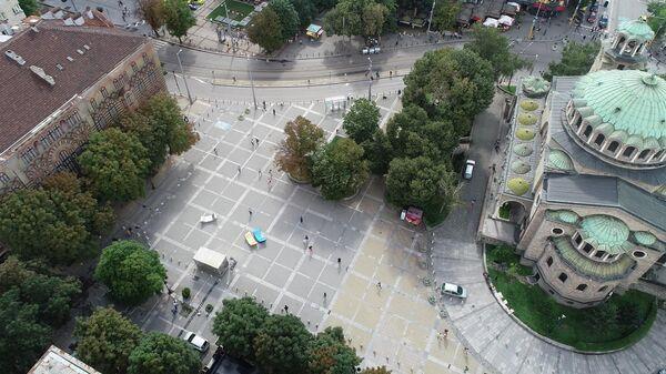 Проект реновации центральной площади Святой Недели в Софии