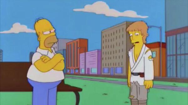 Марк Хэмилл в мультсериале Симпсоны