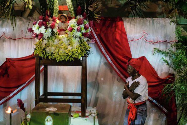 Празднования Дня Сан-Хуан-Баутиста в Курьепе, Венесуэла. 24 июня 2019