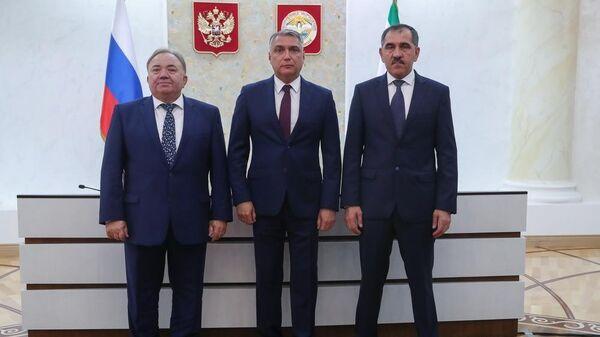 Представление временно исполняющего обязанности главы Республики Ингушетия Махмуда-Али Калитматова