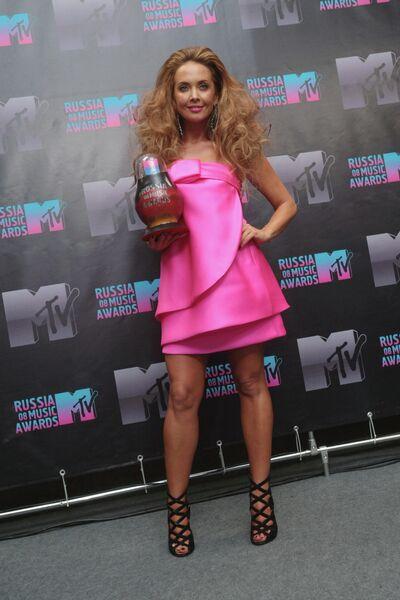 Певица Жанна Фриске удостоена награды MTV Russia Music Awards-2008 в номинации Плагиат. Церемония награждения состоялась в СК Лужники