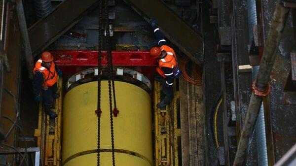 АО Мосгаз приступило к прокладке газопровода на глубине более 10 метров от дна Москвы-реки