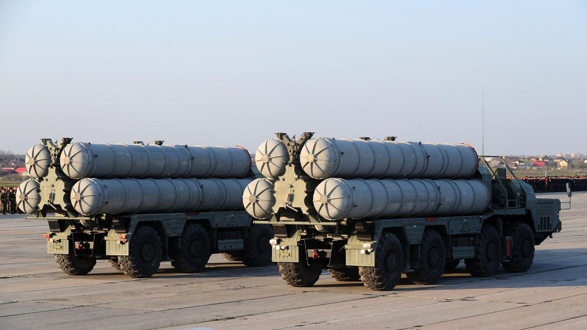 Зенитные ракетные системы С-400 Триумф - РИА Новости, 1920, 29.07.2021