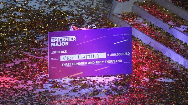 Финал киберспортивного турнира Epicenter Major по Dota 2