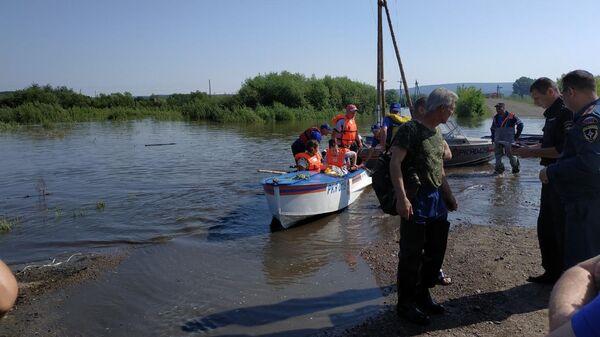 Наводнение в Канском районе. 1 июля 2019