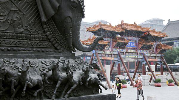 Монастырь Да Чжао в Хух-Хото в Автономном районе Внутренняя Монголия в Китае