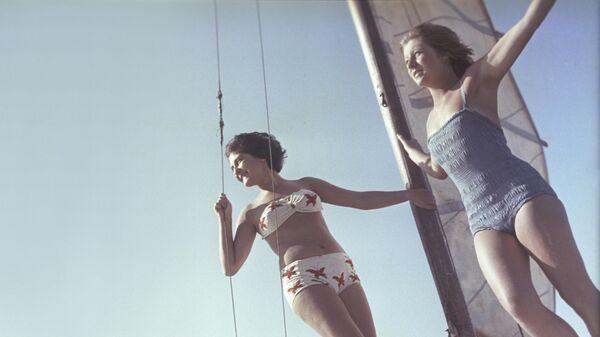 Прогулка на яхте. 1 июня 1963 года
