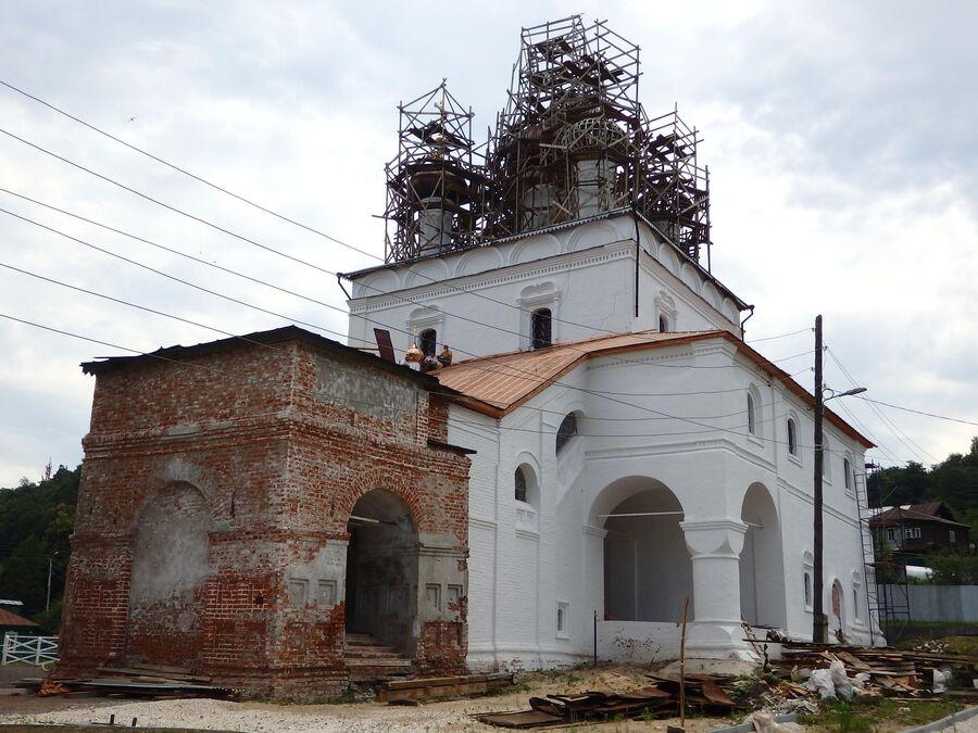 Воскресенская церковь. Гороховец