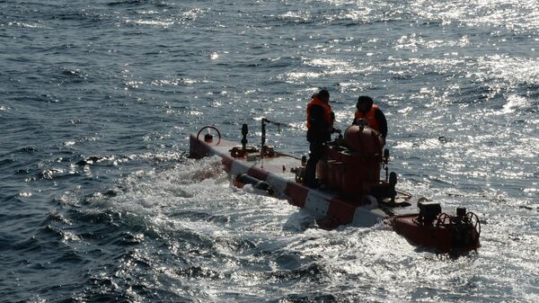 Спасательный глубоководный аппарат Бестер-1