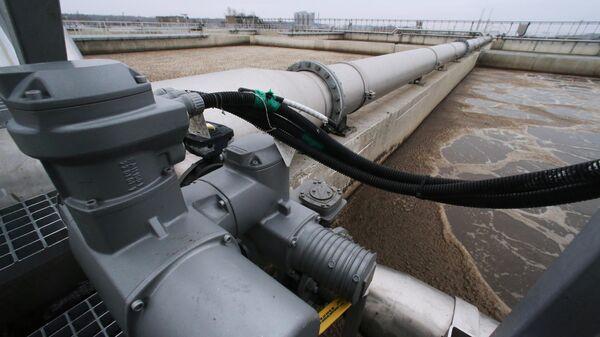 Сооружения биологической очистки сточных вод водоочистной станции