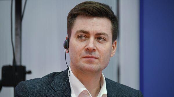Первый замруководителя департамента культуры Москвы Сергей Перов на форуме Мой район