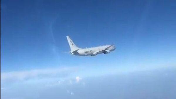 Перехват американского P-8A в небе над Черным морем