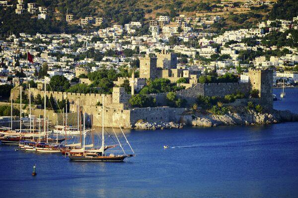 Вид на Бодрум, Турция