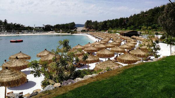 Пляж отеля Lujo Bodrum