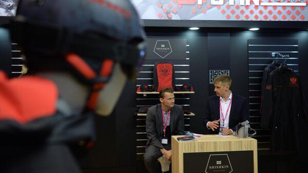 Стенд компании Shishkin на международной промышленной выставке ИННОПРОМ-2019