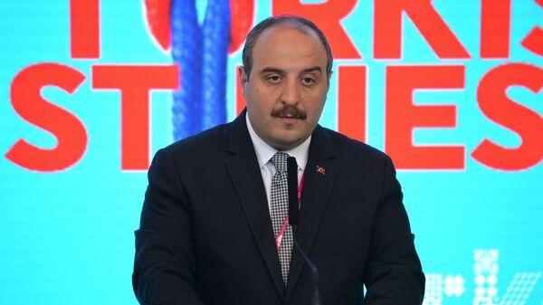 Министр промышленности и технологии Турции Мустафа Варанк