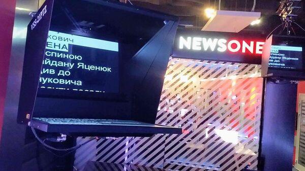 Студия телеканала NewsOne