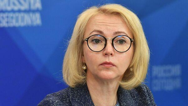 Заместитель председателя Комитета Совета Федерации по аграрно-продовольственной политике и природопользованию Ирина Гехт