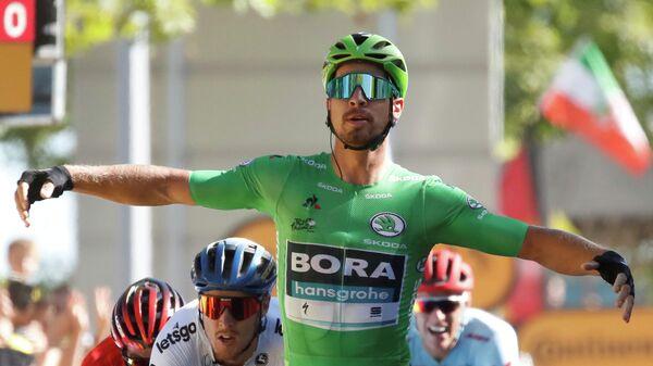 Петер Саган на финише пятого этапа Тур де Франс