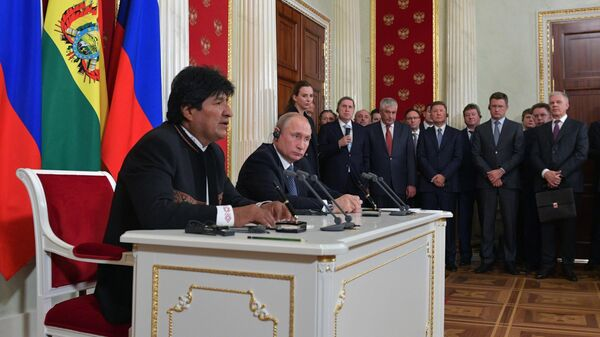 Россия и Боливия выступили против силового давления на государства извне
