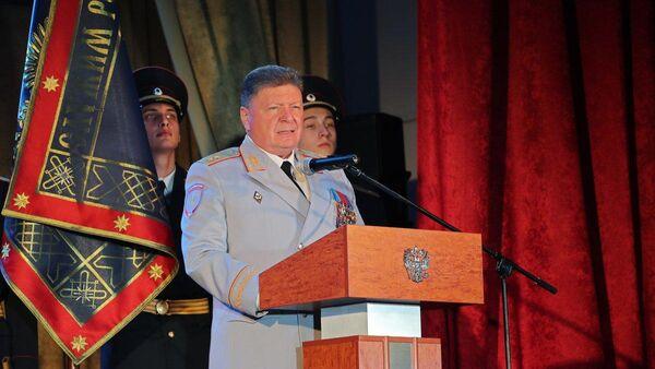 Министр внутренних дел по Республике Крым Олег Торубаров