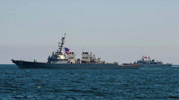 Учения стран НАТО и государств-партнеров Sea Breeze - 2019 в Черном море