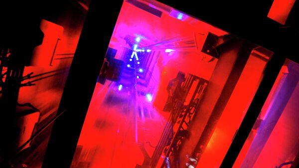 Шахта лифта на смотровую площадку Рокфеллеровского центра