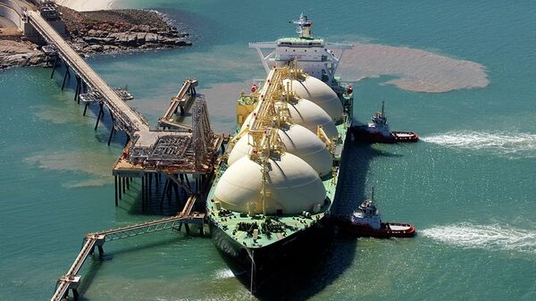 Завод по переработке сжиженного природного газа в Австралии
