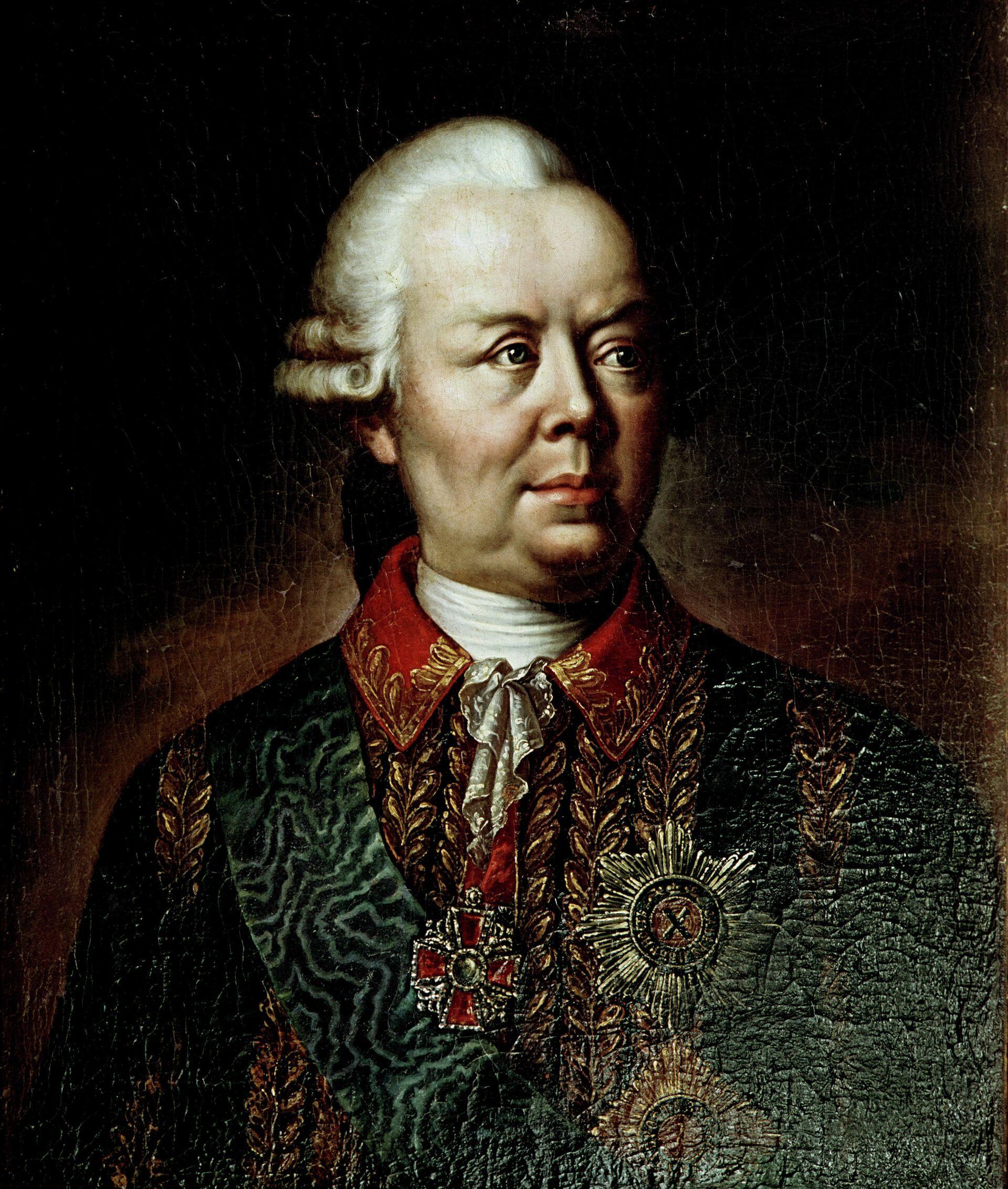 Граф П.А. Румянцев-Задунайский (1725-1796), генерал-фельдмаршал, государственный деятель - РИА Новости, 1920, 01.08.2021