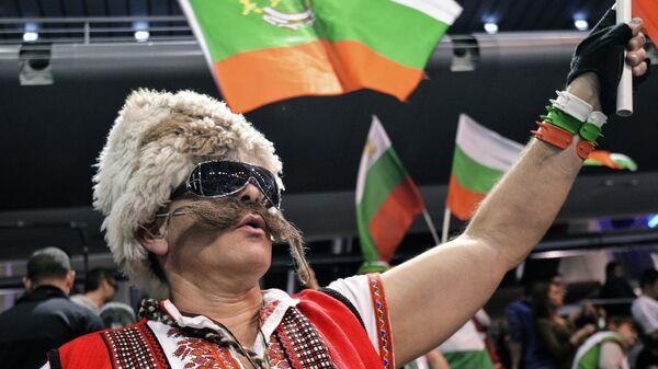 Болельщик сборной Болгарии