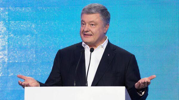 Лидер партии Европейская солидарность Петр Порошенко