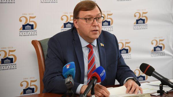 Председатель законодательного собрания Ростовской области Александр Ищенко