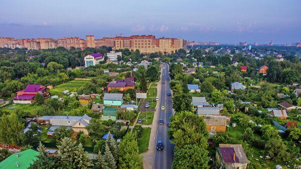Многоквартирные дома и садовые участки в городе Щелково