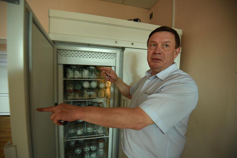 В морозильной камере запахи с мест преступления хранят два года