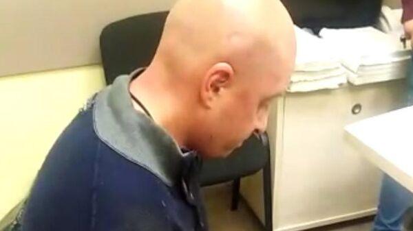 Подозреваемый в убийстве Артем Шустов