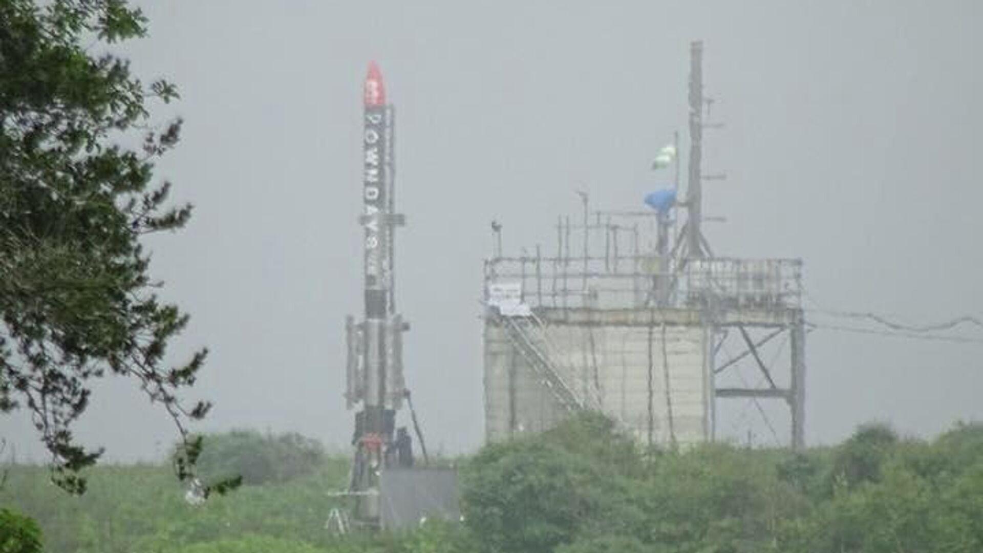 Японская частная компания запустила ракету MOMO