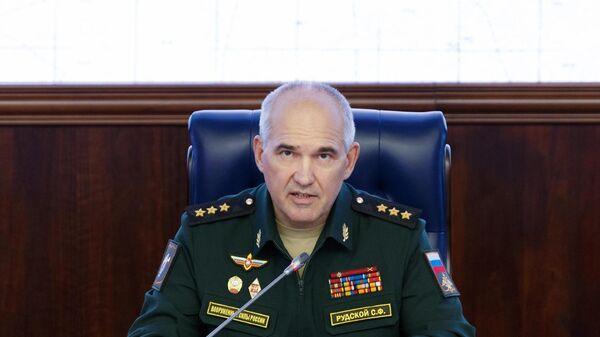 Начальник Главного оперативного управления Генштаба РФ Сергей Рудской