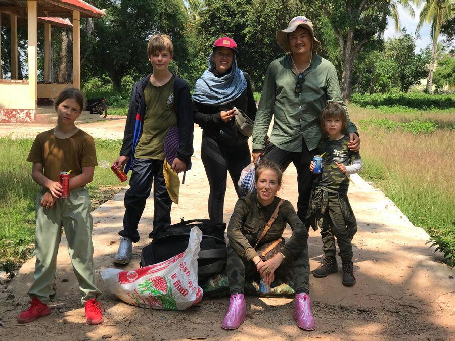 Камбоджа, Азия, Ротанокири