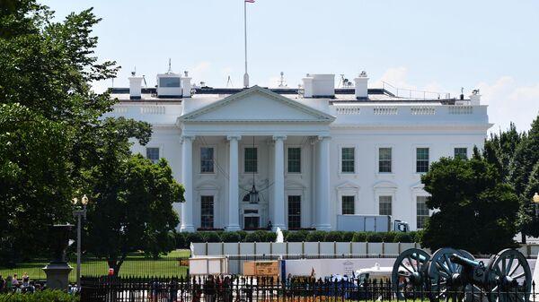Здание Белого в Вашингтоне. 30 июля 2019