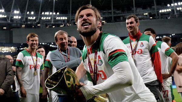 Защитник Локомотива Гжегож Крыховяк