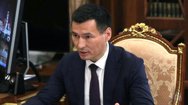 Временно исполняющий обязанности главы Республики Калмыкия Бату Хасиков