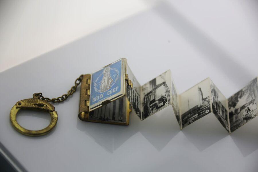 Книжка-брелок с символикой ВДНХ