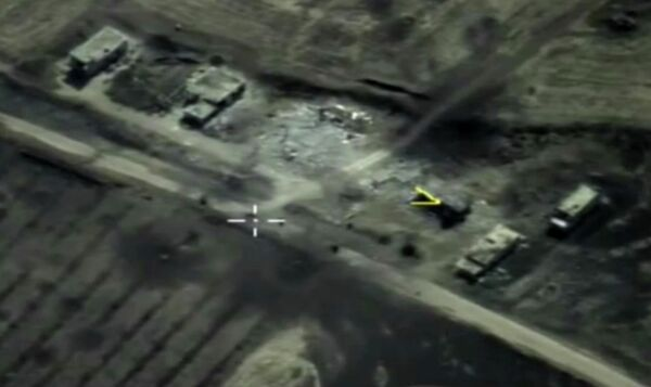 Нанесение ударов по объектам террористической группировки Исламское государство в провинции Идлиб в Сирии