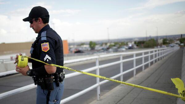 Полиция на месте стрельбы в Walmart в Эль-Пасо, штат Техас. 3 августа 2019