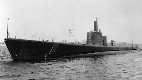 Подводная лодка USS Grunion ВМС США, пропавшая в водах Тихого океана во время Второй мировой войны